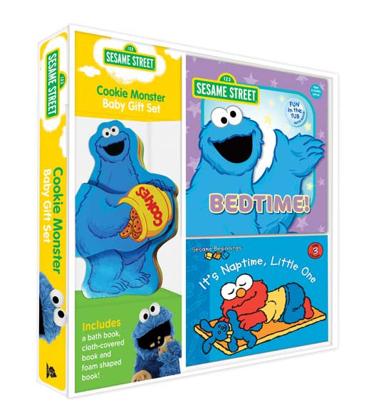 Five Mile Press - Sesame Street Cookie Monster Baby Gift Set | KidzInc Australia | Online Educational Toy Store