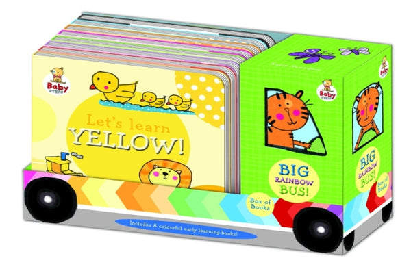 Five Mile Press - Baby Steps 8 Book Bus Set | KidzInc Australia | Online Educational Toy Store