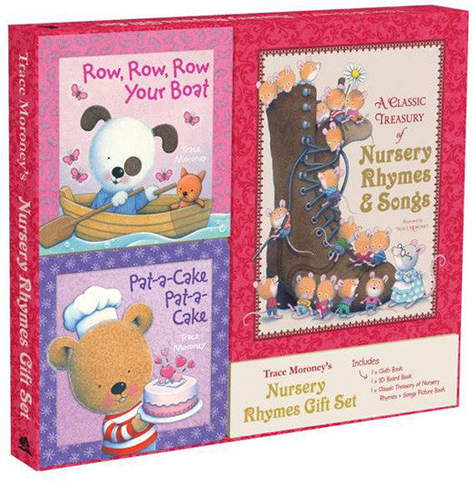 Five Mile Press - Nursery Rhymes Gift Set | KidzInc Australia | Online Educational Toy Store