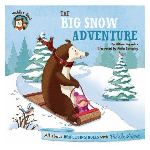 Five Mile Press - Pickle & Bree's Guide To Good Deeds : The Big Snow Adventure | KidzInc Australia | Online Educational Toy Store