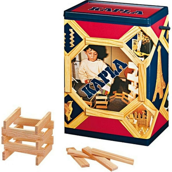 Kapla - 200 Wooden Block Planks | KidzInc Australia | Online Educational Toy Store
