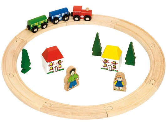 Bigjigs - My First Train Set | KidzInc Australia | Online Educational Toy Store