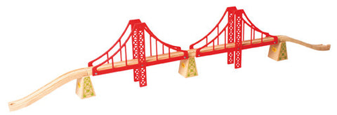 Bigjigs - Double Suspension Bridge | KidzInc Australia | Online Educational Toy Store