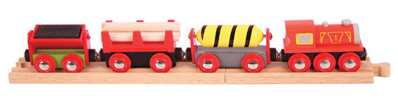 Bigjigs - Supplies Train | KidzInc Australia | Online Educational Toy Store