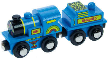 Bigjigs - Blue ABC Engine | KidzInc Australia | Online Educational Toy Store