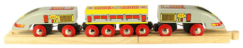 Bigjigs - Bullet Train | KidzInc Australia | Online Educational Toy Store
