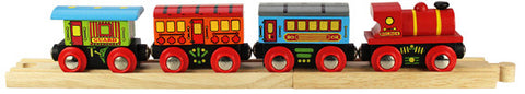 Bigjigs - Passenger Train | KidzInc Australia | Online Educational Toy Store