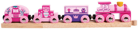 Bigjigs - Princess Train | KidzInc Australia | Online Educational Toy Store