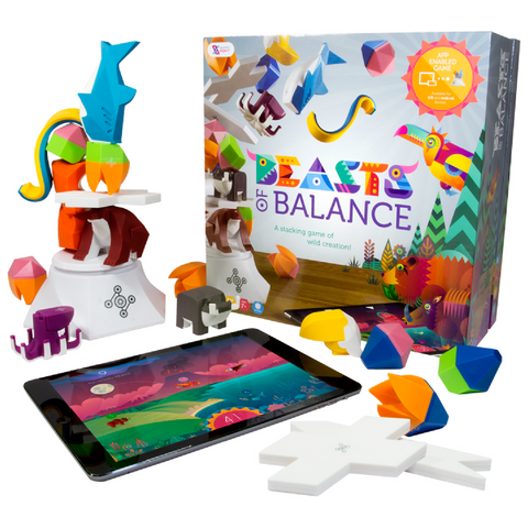 Sensible Objects Beasts of Balance Hybrid Digital Tabletop Game | KidzInc Australia | Online Educational Toys