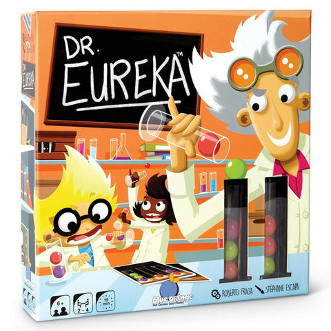 Blue Orange Games - Dr Eureka STEM Speed Logic Game | KidzInc Australia | Online Educational Toy Store