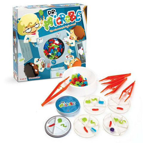 Blue Orange Games - Dr Microbe Science Speed Logic Game | KidzInc Australia | Online Educational Toy Store