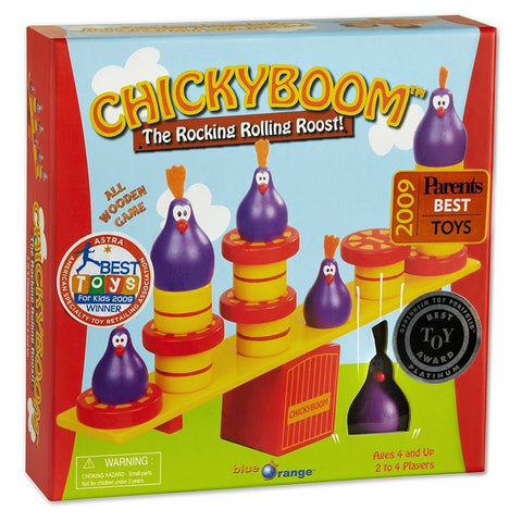 Blue Orange Games - ChickyBoom Balancing Game | KidzInc Australia | Online Educational Toy Store