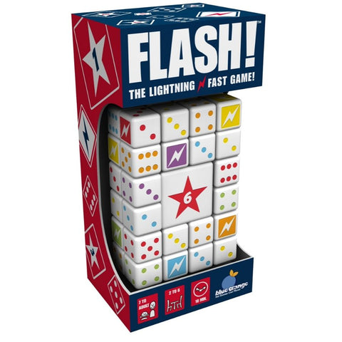 Blue Orange Games Flash The Lightning Fast Dice Game|KidzInc Australia
