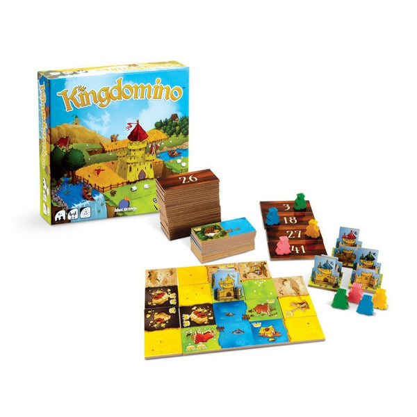Blue Orange Games - Kingdomino Strategy Board Game | KidzInc Australia | Online Educational Toy Store