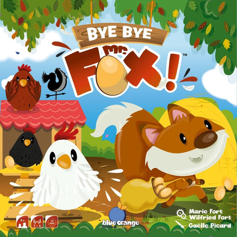 Blue Orange Games Bye Bye Mr Fox | Cooperation Game for Kids | KidzInc Australia | Online Toys and Games