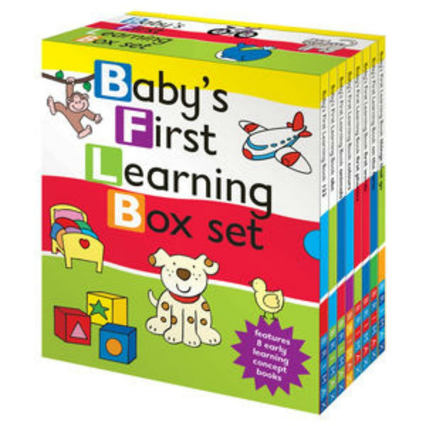Five Mile Press - Baby's First Learning Slipcase Set | KidzInc Australia | Online Educational Toy Store