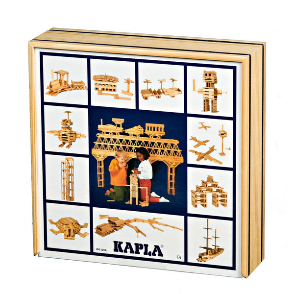 Kapla - 100 Wooden Planks | KidzInc Australia | Online Educational Toy Store