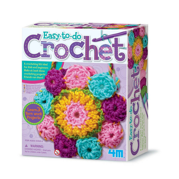 4M - Easy-To-Do Crochet Kit | KidzInc Australia | Online Educational Toy Store
