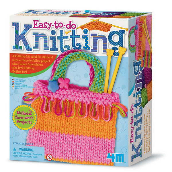 4M Easy to Do Knitting Art Kit | KidzInc Australia | Online Educational Toys