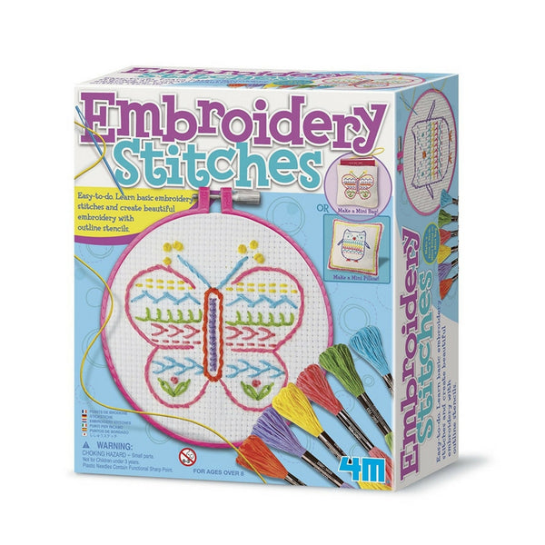 4M - Embroidery Stitches Kit | KidzInc Australia | Online Educational Toy Store
