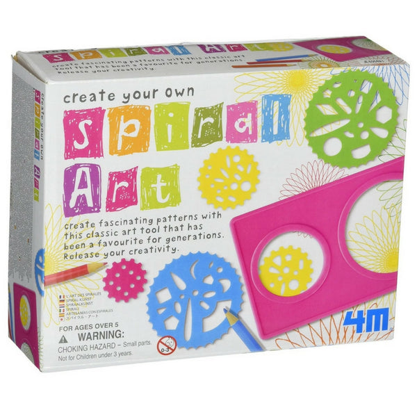 4M - Create Your Own Spiral Art Set | KidzInc Australia | Online Educational Toy Store
