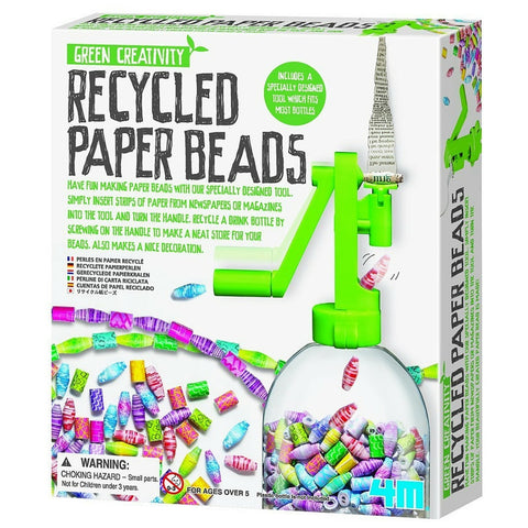 4M - Green Creativity: Recycled Paper Beads | KidzInc Australia | Online Educational Toy Store