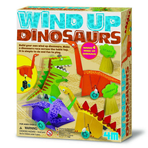 4M - Wind Up Dinosaurs | KidzInc Australia | Online Educational Toy Store