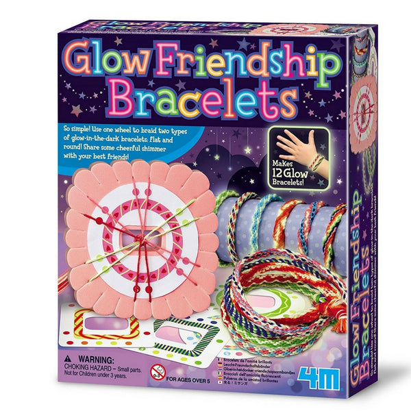 4M - Glow Friendship Bracelets | KidzInc Australia | Online Educational Toy Store