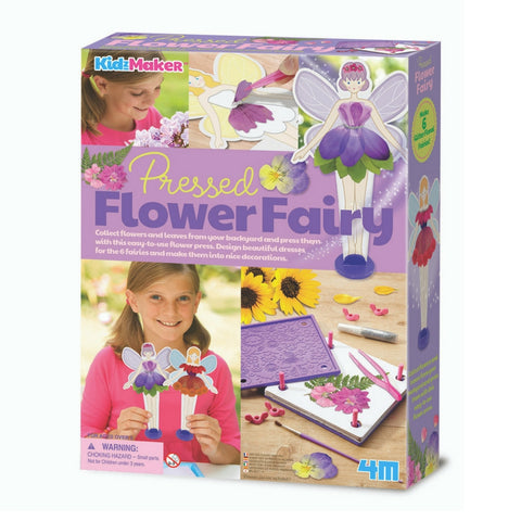 4M - Pressed Flower Fairy Craft Set | KidzInc Australia | Online Educational Toy Store