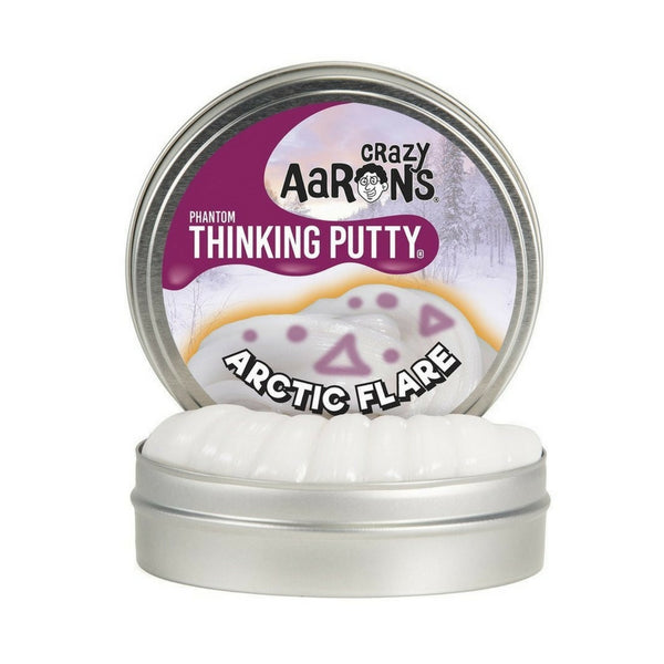 Crazy Aaron's Thinking Putty - Phantom: Arctic Flair | KidzInc Australia | Online Educational Toy Store