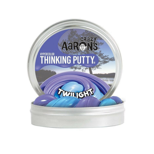 Crazy Aaron's Thinking Putty - Heat Sensitive Hypercolour: Twilight | KidzInc Australia | Online Educational Toy Store