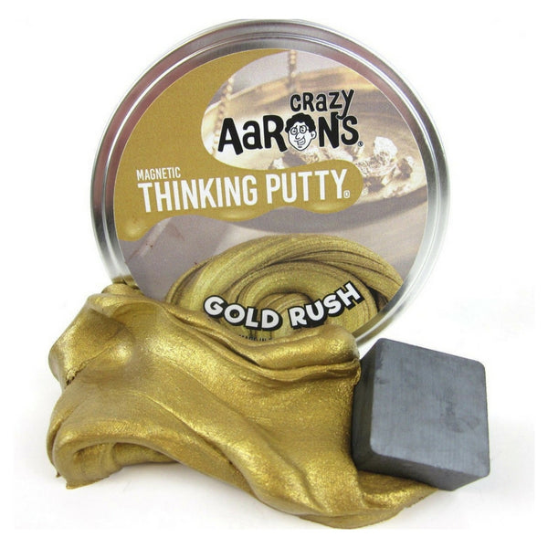 Crazy Aaron's Thinking Putty - Magnetics: Gold Rush | KidzInc Australia | Online Educational Toy Store