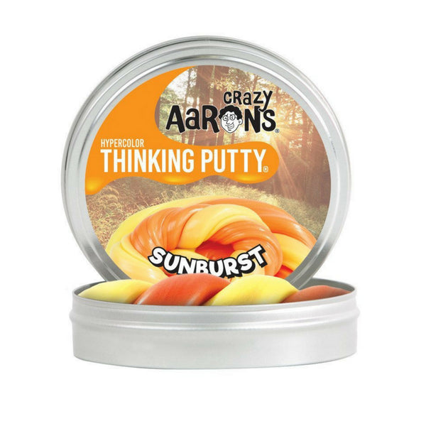 Crazy Aaron's Thinking Putty Heat Sensitive Hypercolour Sunburst Mini | KidzInc Australia