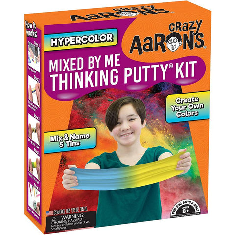 Crazy Araons Thinking Putty Mixed By Me Hypercolour Set | KidzInc Australia