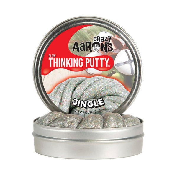 Crazy Aaron's Thinking Putty - Jingle Holiday Theme | KidzInc Australia | Online Educational Toy Store