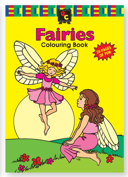 Educational Colours - Fairies Colouring Book | KidzInc Australia | Online Educational Toy Store