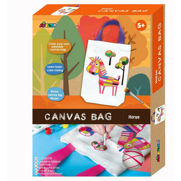 Avenir Canvas Bag Horse | Arts & Crafts |KidzInc Australia Online Toys