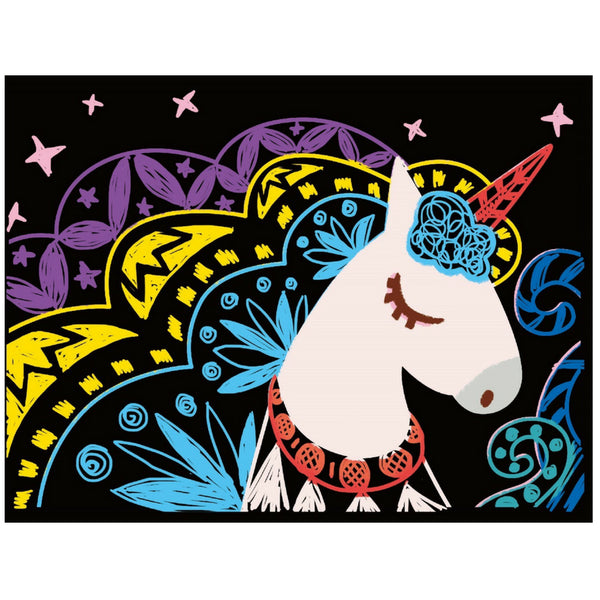 Avenir Scratch Magic: Unicorn | KidzInc Australia | Educational Toys