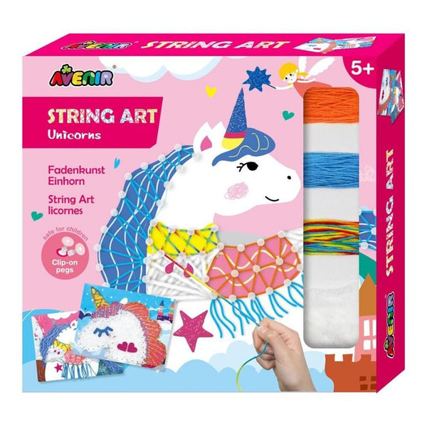 Avenir String Art Unicorn Craft Kit | KidzInc Australia | Online Toys