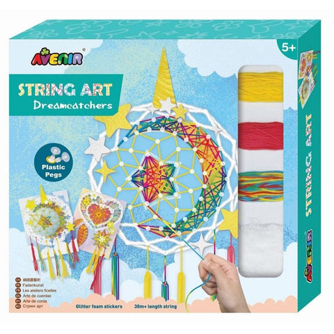 Avenir String Art Dream Catcher Craft Kit | KidzInc Australia