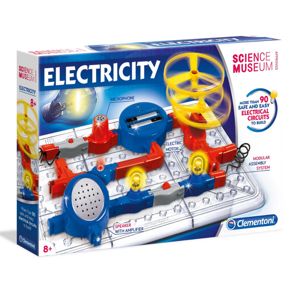 Clementoni Science Museum Electricity Kit | KidzInc Australia | Online Educational Toys