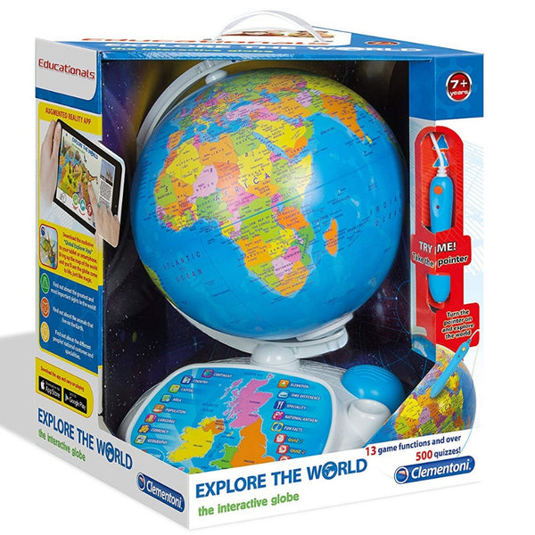 Clementoni Explore the World Interactive Globe | KidzInc Australia