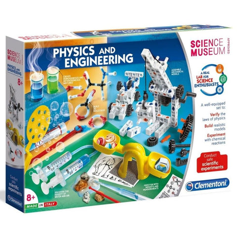 Clementoni Physics and Engineering STEM Kit | KidzInc Australia