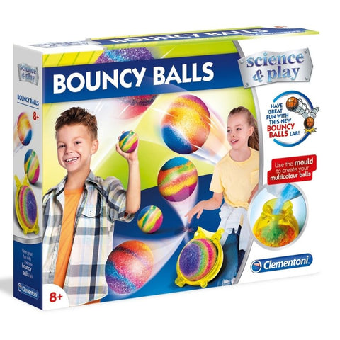 Clementoni - Science and Play: Bouncy Balls Science Kit