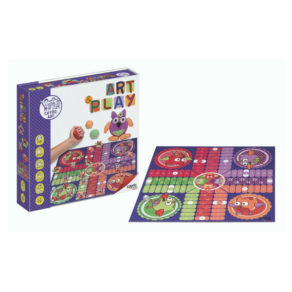 Cayro the Games - Play Ludo Owls Game | KidzInc Australia | Online Educational Toy Store