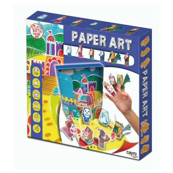Cayro the Games - Paper Art Finger Puppets, Storytelling Characters | KidzInc Australia | Online Educational Toy Store