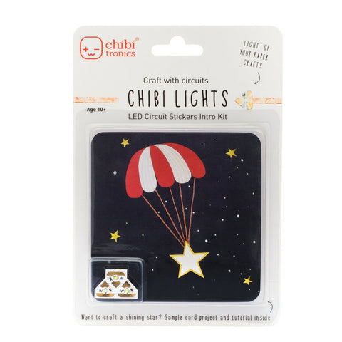 Chibitronics - LED Circuit Stickers Introductory Pack | KidzInc Australia | Online Educational Toy Store