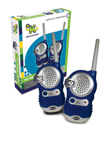 Discovery Kids - FM Walkie-Talkies | KidzInc Australia | Online Educational Toy Store