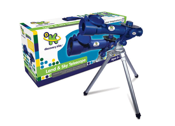 Discovery Kids - Land & Sky 30X Telescope | KidzInc Australia | Online Educational Toy Store