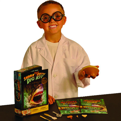 Discover with Dr Cool - Shark Teeth Dig Science Kit | KidzInc Australia | Online Educational Toy Store